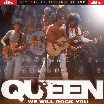 Queen - We Will Rock You (Live) (2001) DTS 5.1