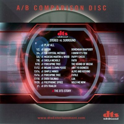 VA - A/B Comparison Disc (2005) Audio-DVD