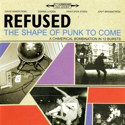 Refused - The Shape Of Punk To Come (2004) DVD-Audio