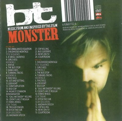 BT - Music From And Inspired By The Film Monster (2004) Audio-DVD