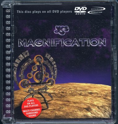 Yes - Magnification (2002) DTS 5.1 + DVD-Audio