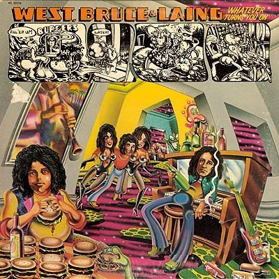 West, Bruce and Laing - Whatever Turns You On (1973) DTS 4.0