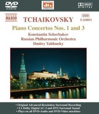Tchaikovsky - Piano Concertos Nos. 1 and 3 (2004) DVD-Audio