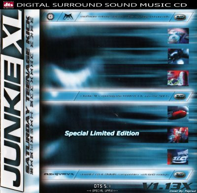 Junkie XL - Saturday Teenage Kick (Special Limidet Edition) (1998) DTS 5.1