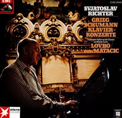 E.Grieg and R.Schumann - Klavierkonzerte (1975) DTS 5.0