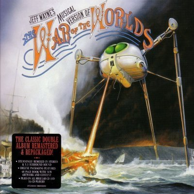 "Jeff Wayne - Musical version of ""The War of the Worlds"" (2005) DTS 5.1"