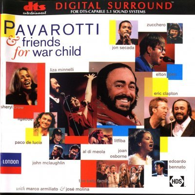 VA - Pavarotti and Friends - For War Child (2001) DTS 5.1