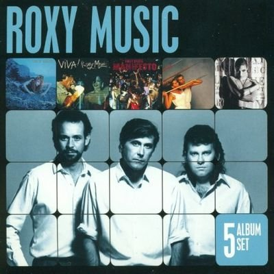 Roxy Music - 5 Album Set (2012) FLAC