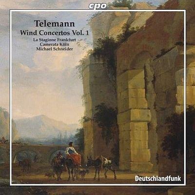 Georg Philipp Telemann - Wind Concertos Vol.1 (2007) FLAC
