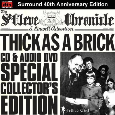 Jethro Tull - Thick As A Brick (2012) DTS 5.1