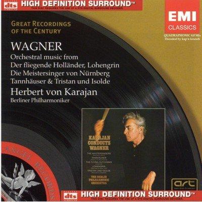 Herbert von Karajan / Richard Wagner - Orchestral Music (2008) DTS 4.0