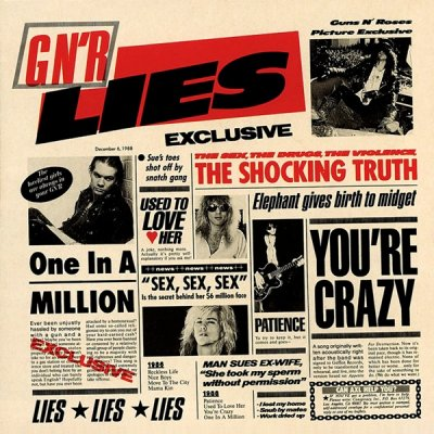 Guns N' Roses - G N' R Lies [2008 Japan SHM-CD] (1988) APE