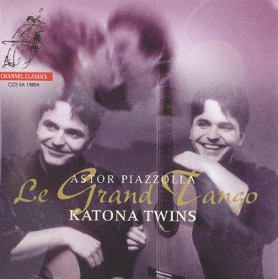 Katona Twins - Le Grand Tango (Astor Piazzolla) (2004) SACD-R