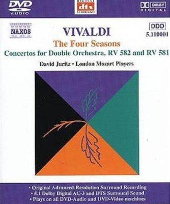 David Juritz & London Mozart Players - Antonio Vivaldi - The Four Seasons (2001) DVD-Audio