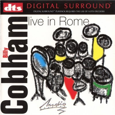 Billy Cobham - Live In Rome (2000) DTS 5.1