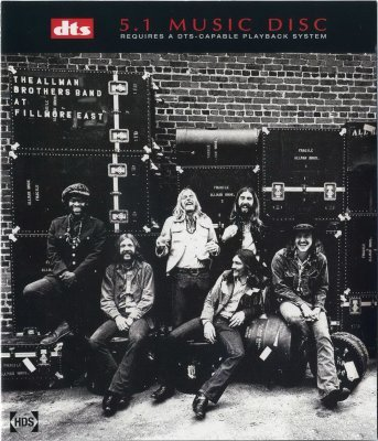 Allman Brothers Band - Live At The Fillmore East (2001) DTS 5.1