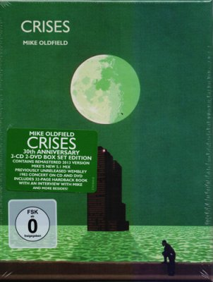 Mike Oldfield - Crises (2013) Audio-DVD