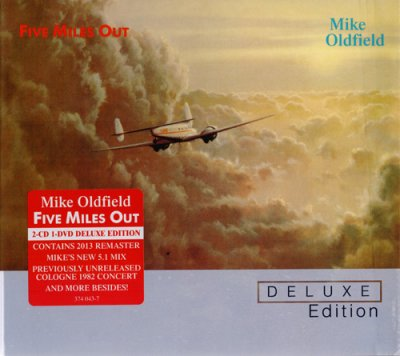 Mike Oldfield - Five Miles Out (2013) Audio-DVD