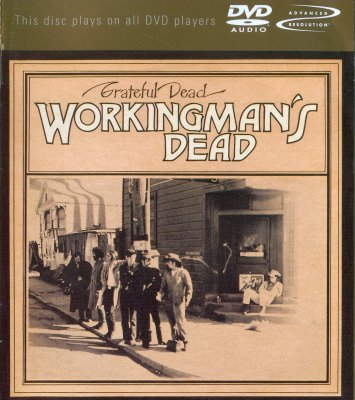 Grateful Dead - Workingman is dead (2001) DVD-Audio