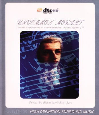 Mozart - Uncommon Mozart (3D Sound Experiment) (2007) DVD-Audio