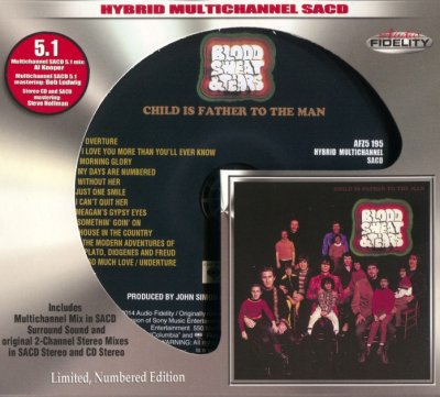Blood, Sweat & Tears - Child Is Father To The Man (2014) SACD-R