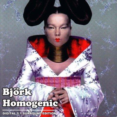Bjork - Homogenic (2006) DTS 5.1