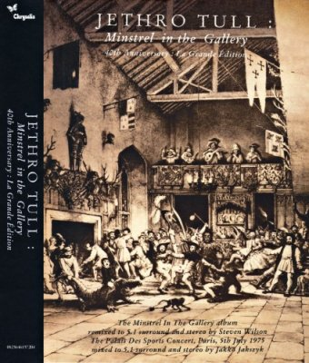 Jethro Tull - Minstrel in the Gallery (2015) Audio-DVD