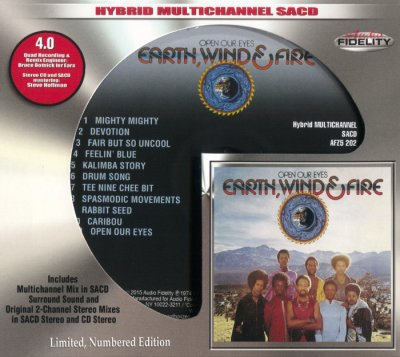 Earth, Wind & Fire - Open Our Eyes (2015) SACD-R