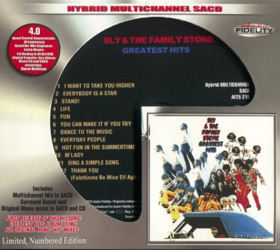 Sly & The Family Stone - Greatest Hits (2015) SACD-R