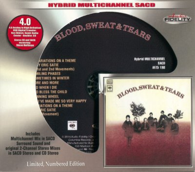 Blood, Sweat & Tears - Blood, Sweat & Tears (2015) SACD-R
