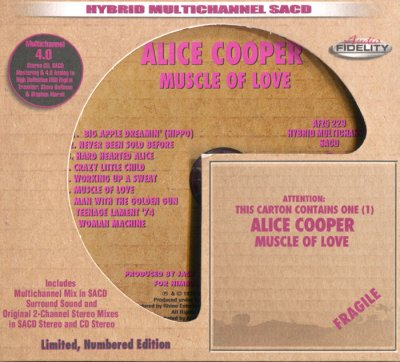 Alice Cooper - Muscle of Love (2015) SACD-R