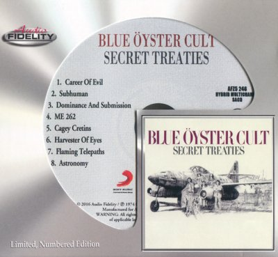 Blue Öyster Cult - Secret Treaties (2016) SACD-R