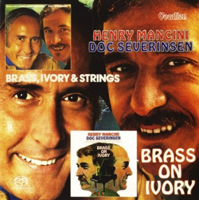 Henry Mancini & Doc Severinsen - Brass, Ivory and Strings & Brass on Ivory (2015) SACD-R