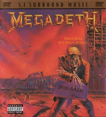 Megadeth - Peace Sells...But Whos Buying? (2004) DVD-Audio + DTS 5.1