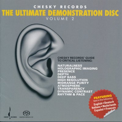 VA - Chesky Records. The Ultimate Demonstration Disc, Vol. 2 (2008) SACD-R