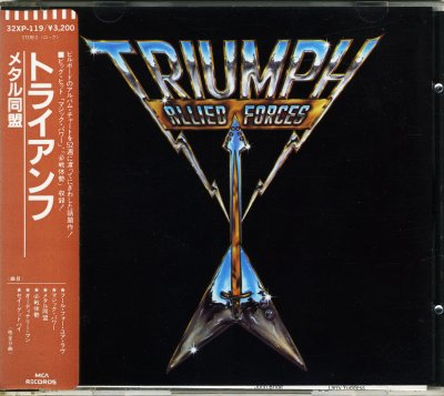Triumph - Allied Forces (Japan Edition) (1985) FLAC