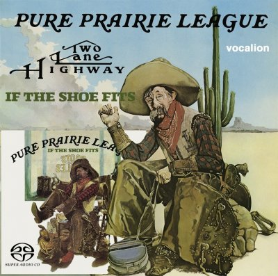 Pure Prairie League - Two Lane Highway & If The Shoe Fits (2017) SACD-R