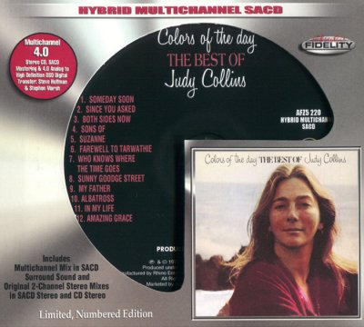 Judy Collins - Colors of the Day. The Best Of Judy Collins (2015) SACD-R