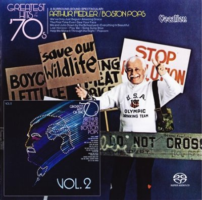 Arthur Fiedler Boston Pops - Greatest Hits Of The '70s Vols. 1 & 2 (2017) SACD-R