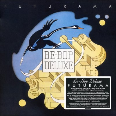 Be-Bop Deluxe - Futurama (3CD+DVD Box Set) (2019) FLAC + Audio-DVD