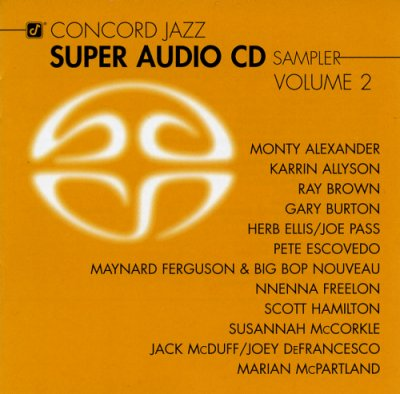 VA - Concord Jazz Super Audio CD Sampler Vol. 2 (2004) SACD-R