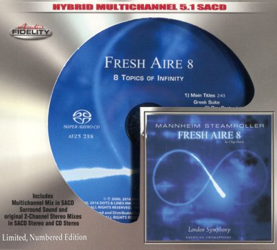 Mannheim Steamroller - Fresh Aire 8 (2016) SACD-R