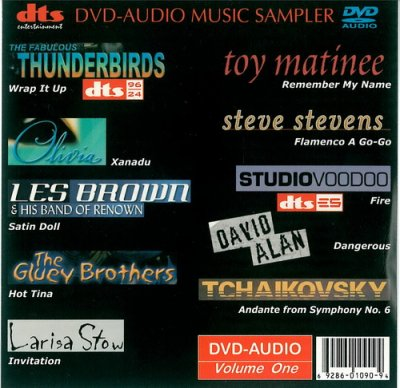 VA - DVD-Audio Music Sampler Vol.1 (2001) DVD-Audio