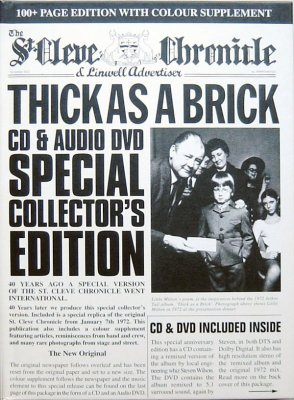 Jethro Tull - Thick As A Brick (40th Anniversary Set) (2012) Audio-DVD