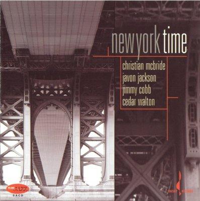 Christian McBride, Javon Jackson, Jimmy Cobb, Cedar Walton - New York Time (2006) SACD-R