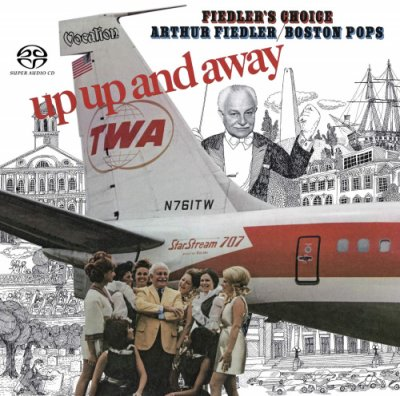 Arthur Fiedler & the Boston Pops - Up, Up and Away (2019) SACD-R