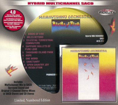 Mahavishnu Orchestra - Birds Of Fire (2015) SACD-R