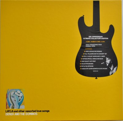 Derek and The Dominos ‎- Layla And Other Assorted Love Songs (40th Anniversary Edition) (2011) Audio-DVD