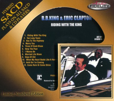 B.B. King & Eric Clapton - Riding With The King (2015) SACD-R
