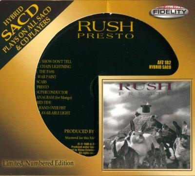 Rush - Presto (2014) SACD-R
